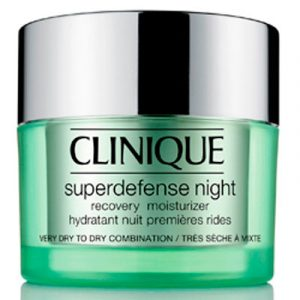 Clinique Superdefense Night Recovery Moisturizer for Dry Skin 50 ml