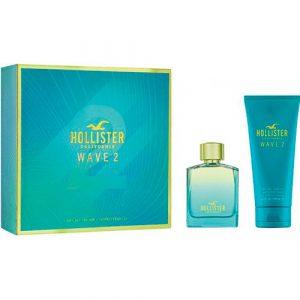 Estuche Hollister Wave 2 Him Eau de Toilette + Body Shower 200 ml