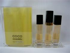 Chanel Coco Eau de Toilette 3x15 ml Rechargue