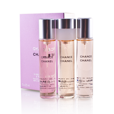 CHANEL CHANCE EDT 3 X 20 ML RECARGA