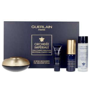 Guerlain Orchidee Imperiale Eye and Lip Contour Case 15 ml + Longevity Concentrate 5ml + Essence Lotion 15ml