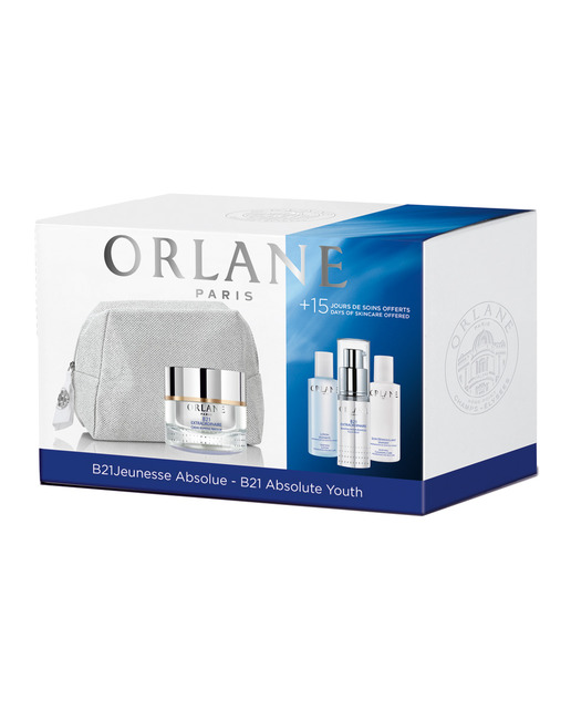 Set Orlane Extraordinaire B21 Cream 50 ml + B21 Extraordinaire Serum 15 ml + Lotion revitalizing 50 ml + Tónico 50 ml + Dressing Case