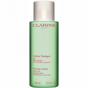 Clarins Toning Lotion with Iris Combination or Oily skin