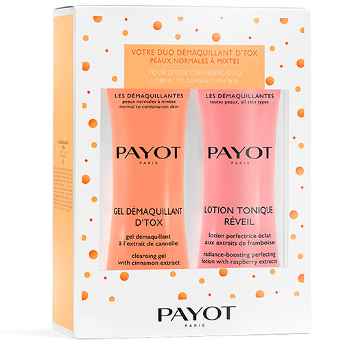 Payot Your D'Tox Cleasing Duo Cleasing Gel 400 ml + Radiance Boosting Perfecting Tonic 400 ml