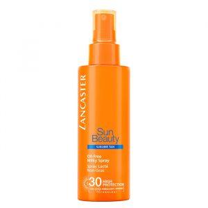 Lancaster Sun Beauty Oil Free Milky Spray Spf 30