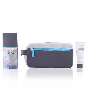 Issey Miyake Sport Eau de Toilette 100 ml Gift Set Body Shower 75 ml + Dressing Case