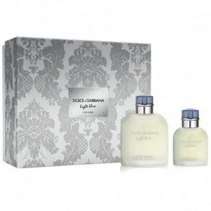 Dolce & Gabbana Light Blue Homme Eau de Toilette 125 ml Gift Set Eau de Toilette 40 ml