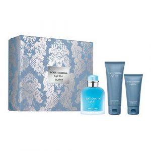 Dolce & Gabbana Light Blue Homme Intense Eau de Parfum 100 ml Gift Set Body Shower + After Shave