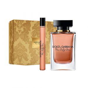 Dolce & Gabbana The Only One Eau de Parfum 100ml Gift Set Miniature 10ml + Megaspritzer 7.5ml