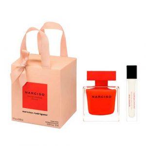 Narciso Rodriguez Rouge Eau de Parfum Gift Set Mini 10 ml
