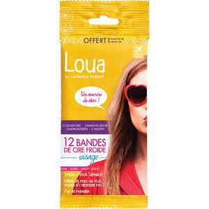 Loua 12 Cold Wax Strips Facial