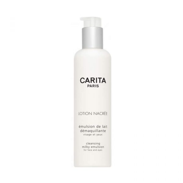 Carita Lotion Nacree Cleansing Milky Emulsion Face and Eye 200 ml