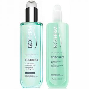 Biotherm Biosource Makeup Cleanser Duo Set for Normal or Combination Skin 400 ml