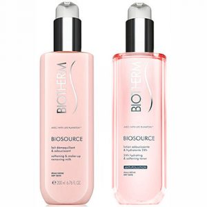 Biotherm Biosource Makeup Cleanser Duo Set for Dry Skin 400 ml