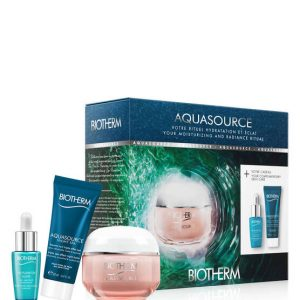 Biotherm Aquasource 48H 50ml Gift Set Biotherm Life Plankton Elixir 7ml + Biotherm Aquasource Spa Night 20ml