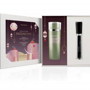 M2 Beaute Eyelash Activated Serum 4 ml + Makeup Remover 150 ml