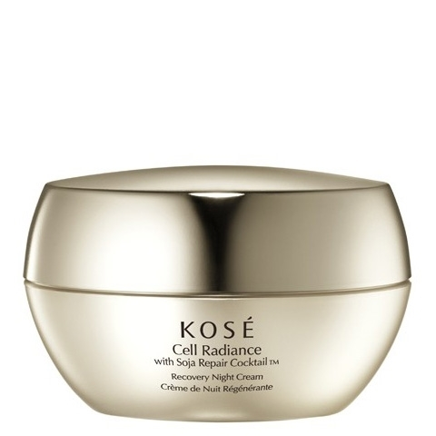 Kosé Cell Radiance With Soja Repair Recovery Night Cream
