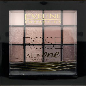 Eveline Eyeshadow Palette All In One 12 Colors Burn