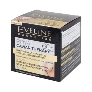 Eveline Royal Caviar Therapy 60+ Luxury Intensely Regenerating Cream-Concentrate.