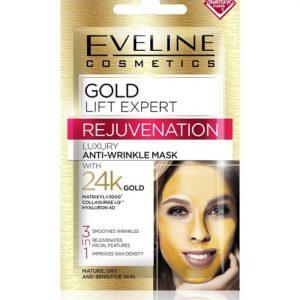 Eveline Gold Lift Expert Rejuvenation Anti-Wrinkle Face Mask