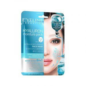 Eveline Hyaluron Moisture Pack Face Mask 8in1