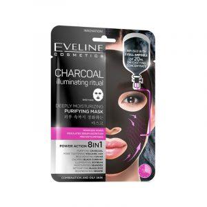 Eveline Charcoal Illuminating Purifying Mask