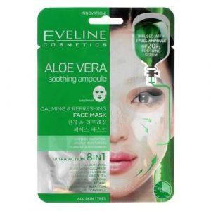 Eveline Aloe Vera Face Mask 8in1