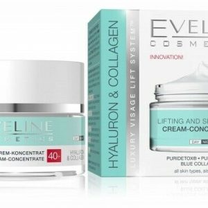 Eveline Hyaluron&Collagen Lifting and Smoothing Cream-Concentrate 40+