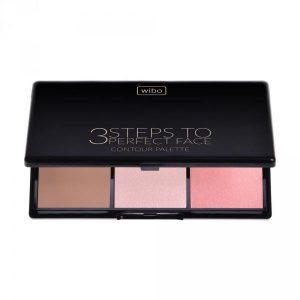 Wibo 3 Steps To Perfect Face Contour Palette