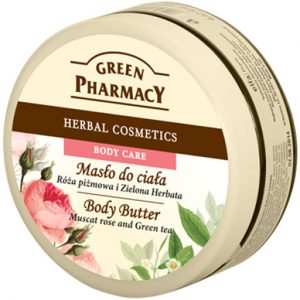 Green Pharmacy Body Butter Muscat Rose and Green Tea