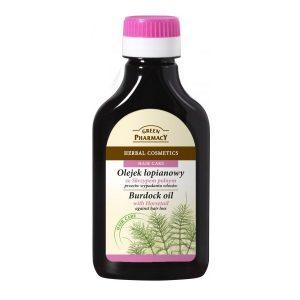 Green Pharmacy Burdock Oil With Horsetail Against Hair Loss