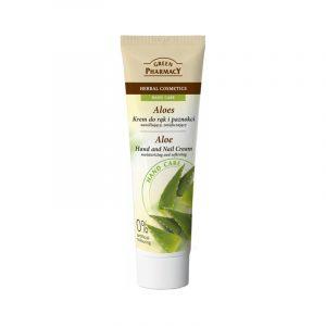 Green Pharmacy Aloe Vera Hand and Nail Cream
