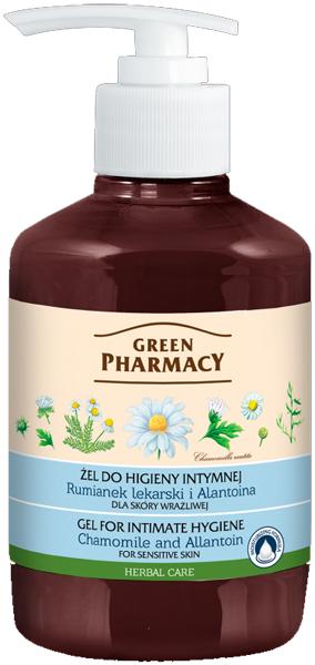 Green Pharmacy Gel For Intimate Hygiene For Sensitive Skin