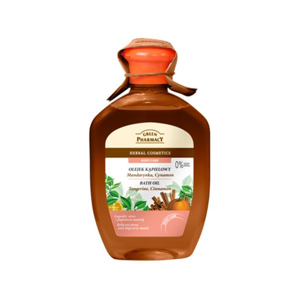 Green Pharmacy Body Care Bath Oil Tangerine