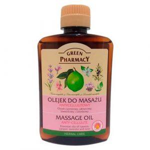 Green Pharmacy Body Care Massage Oil Anti-Cellulite.