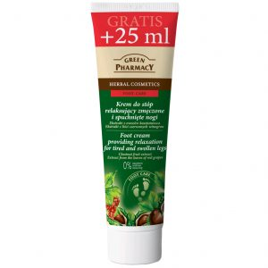 Green Pharmacy Foot Cream Providing Relaxation For Tired and Swollen Legs