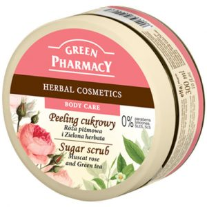 Green Pharma Sugar Scrub Muscat Rose and Green Tea