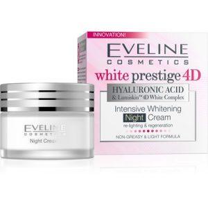Eveline White Prestige 4D Hyaluronic Acid Intensive Whitening Night Cream 50ml
