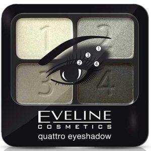 Eveline Eyeshadow Quattro