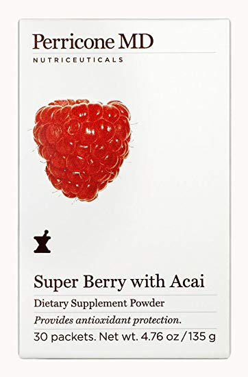 Perricone Dietary Supplement Powder Super Berry With Acai 30 Packets
