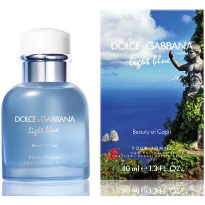 Dolce & Gabbana Light Blue Beauty of Capri pour Homme Eau de Toilette