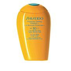 Shiseido Tanning Cream For face and Body SPF 10 150 ml