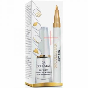 Collistar Lacquer Nails Top Coat Gel + Volume + Gift