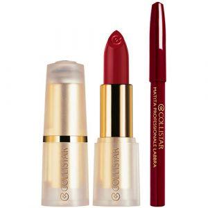 Estuche Collistar Puro Lipstick Mat + Pencil