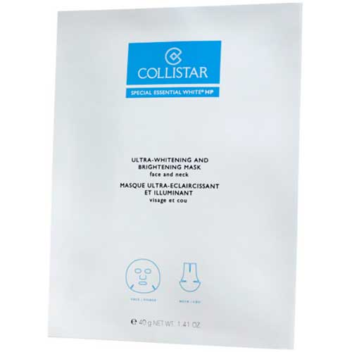 Collistar Special  Essential White HP Ultra Whitening And Brightening Mask Face and Neck 4 x 50 ml