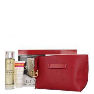 Collistar Perfume Case Della Felicita 100ml + Della Felicita 50ml Body Cream + Wash Bag