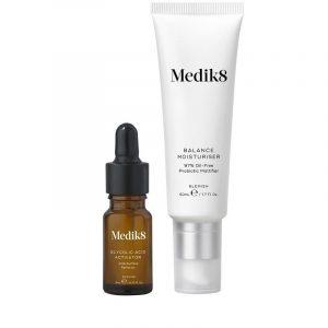 Medik8 Balance Moisturiser & Glycolic Acid Activator - Acne Moisturizer 50 ml