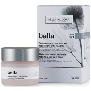 Bella Aurora Bella Night-time action treatment repairs & anti-dark spots 50ml