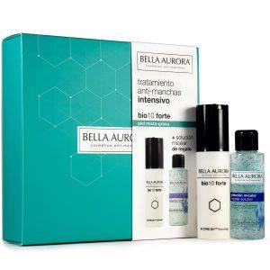 Bella Aurora Bio10 Forte Anti Stain Intensive Treatment Oily Combination Skin + Micelar Solution