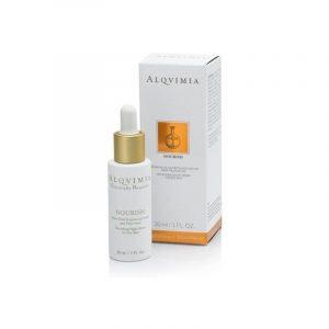 Alqvimia Essentially Beauty Nourishing Night Serum For Dry Skin